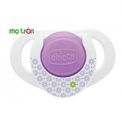 Bộ 2 ty ngậm silicon Physio Compact Hoa cúc, Mỏ neo 0-6M Chicco
