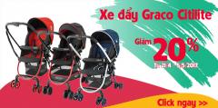 Giảm giá xe đẩy em bé Zaracos 20% từ ngày 21/4 – 5/5
