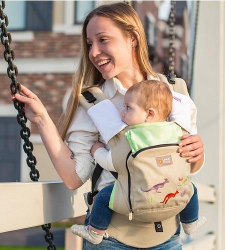 Hướng dẫn mẹ bỉm sữa địu con an toàn và đúng cách