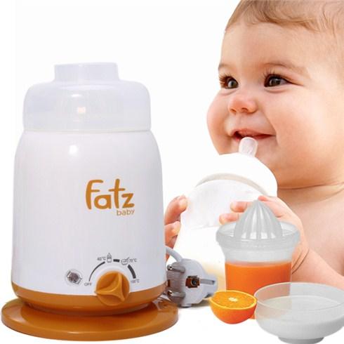 Lý do khiến mẹ muốn sở hữu ngay máy hâm sữa Fatz 4 chức năng của Hàn Quốc