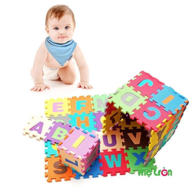 Nên hay không nên sử dụng thảm xốp lót sàn cho bé?