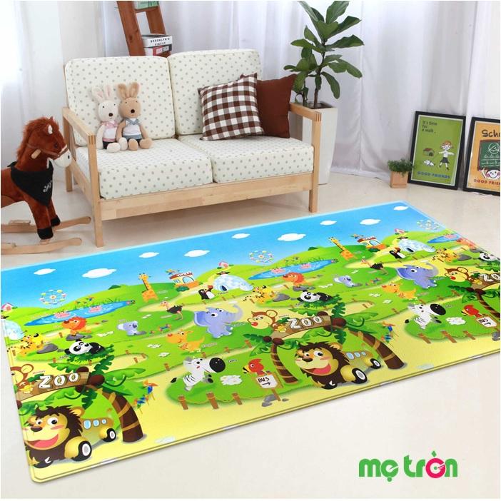 Thảm xốp lót sàn – sản phẩm cho bé phát triển an toàn