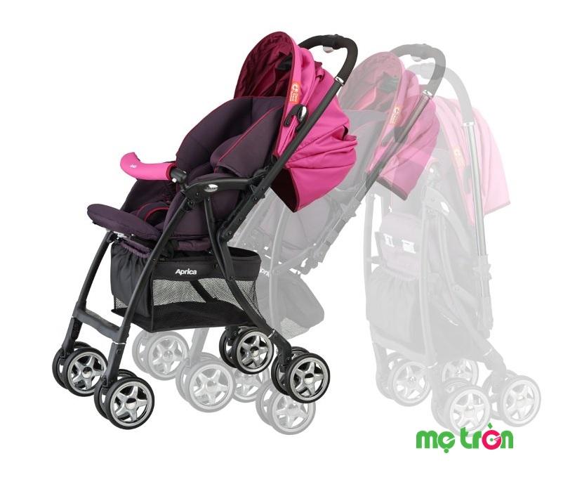 Top xe đẩy em bé thương hiệu Aprica được nhiều mẹ chọn lựa nhất