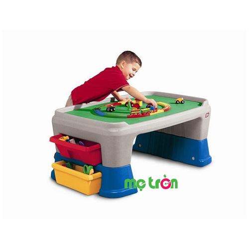 Bộ bàn cho bé chơi Little Tikes 100cm LT-625411 màu sắc tươi sáng