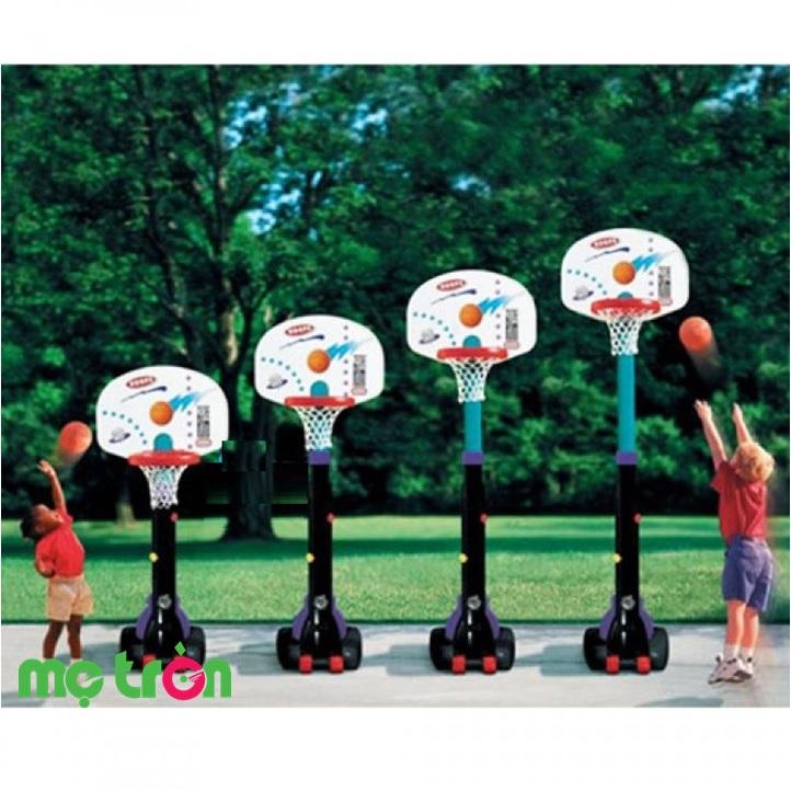 Bộ bóng rổ dành cho bé lớn (cao 2m6) Little Tikes LT-433910060