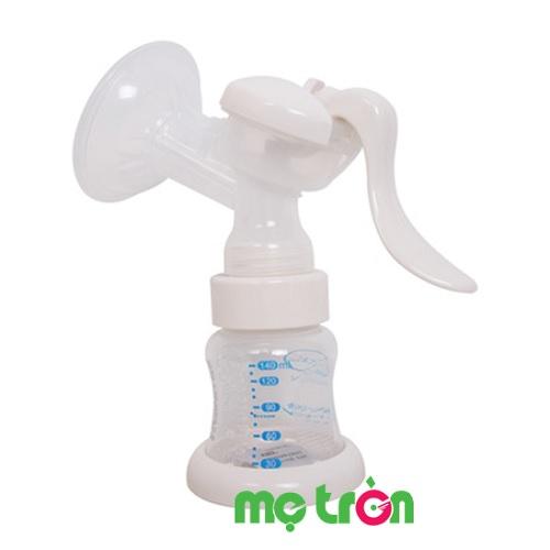 Máy hút sữa bằng tay cho mẹ Gluck GP22-1 loại 1 bình cổ rộng