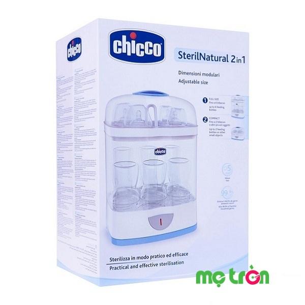 Máy tiệt trùng bình sữa Chicco 2 in 1 Italy