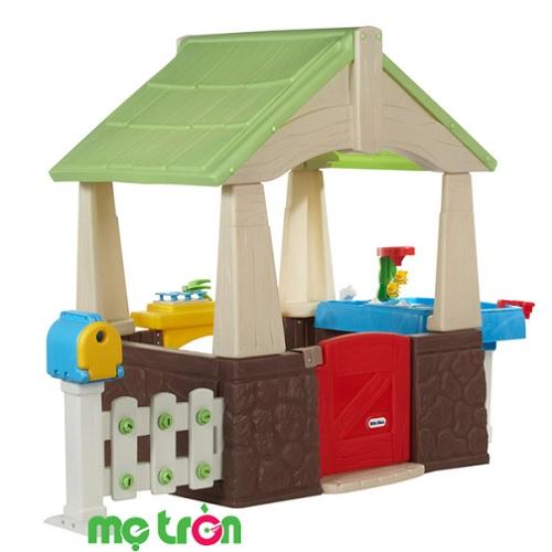 Nhà vườn vui nhộn Deluxe Home & Garden Playhouse Little Tikes LT-630170