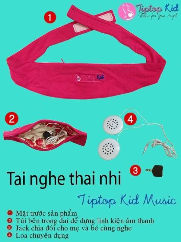 Tai nghe bà bầu Tiptop Kid – sản phẩm chất lượng từ Hà Lan