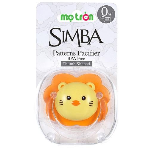 Ty ngậm hình ngón cái Simba cho trẻ 0-6 tháng/trên 6 tháng
