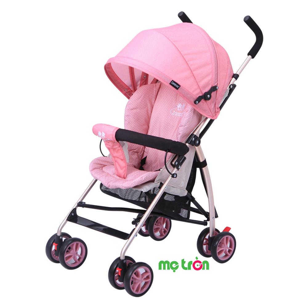 Xe đẩy cho bé Zaracos Cruz 3206 - 2 màu  HỒNG- XANH DƯƠNG