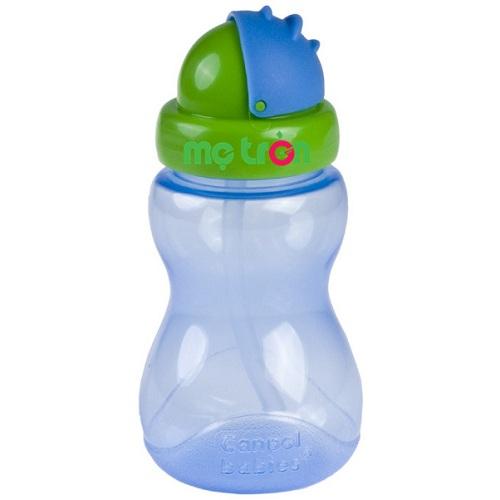 Cốc uống nước thể thao có ống hút Canpol được làm từ nhựa cao cấp theo tiêu chuẩn nghiêm ngặt của châu Âu nên sản phẩm rất an toàn cho bé khi sử dụng. Cốc tập uống có tay cầm với kiểu dáng và màu sắc lạ mắt, tạo cho bé sự thích thú khi sử dụng.