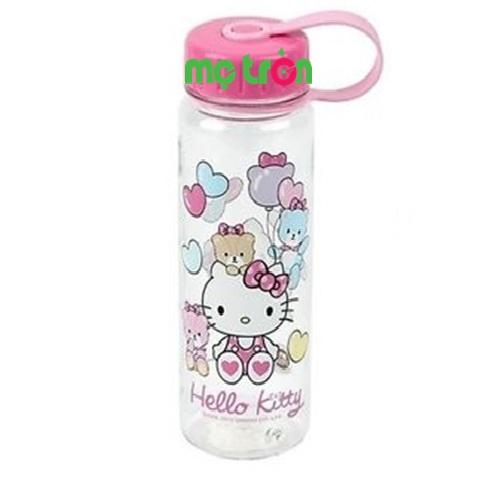 Sản phẩm bình nước Hello Kitty LKT613 Hàn Quốc được sản xuất từ chất liệu bào đảm an toàn tuyệt đối cho sức khỏe của bé yêu.Với thiết kế đơn giản, nhỏ gọn thì mẹ có thể đựng nước trong những lần bé ra ngoài. Ngoài ra, sẽ giúp mẹ tiết kiệm được nhiều thời gian cũng như chi phí khi chăm sóc cho bé yêu.