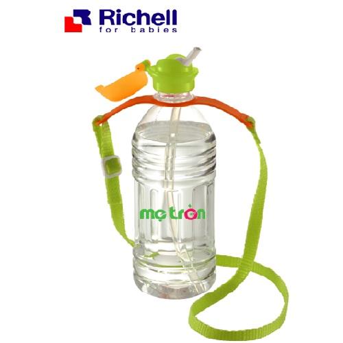 Nắp ống hút lắp vào chai nước Ritchell RC98196 được làm từ chất liệu nhựa chịu nhiệt từ 80 – 900C và silicone an toàn chịu nhiệt được tới 1200C và chất liệu nhựa không chứa thành phần BPA bảo đảm an toàn tuyệt đối cho bé.