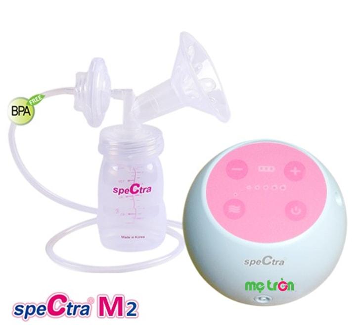<p>Máy hút sữa Spectra M2 bằng điện và pin của Hàn Quốc được sản xuất dựa trên dây chuyền công nghệ hiện đại mới nhất của hãng Uzinmedicare. Sản phẩm đảm bảo an toàn tuyệt đối cho sức khỏe của mẹ và bé. Công nghệ hút sữa hai giai đoạn giống như quá trình bé bú mẹ trực tiếp.</p>