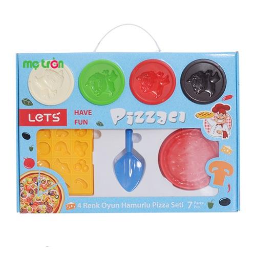 Bột nặn let's làm bánh pizza L-8460 được làm từ chất liệu bột mì và màu thực phẩm tự nhiên, an toàn, bảo vệ sức khỏe tuyệt đối cho bé nên bạn có thể hoàn toàn yên tâm khi ch bé vui chơi thoải thích. Bộ bột nặn không chỉ là trò chơi thú vị, vui vẻ mà còn mang đến cho bé những trải nghiệm thú vị khi được tập làm người lớn.
