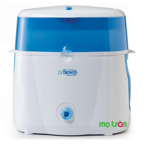 Máy tiệt trùng bình sữa Dr.Browns Deluxe Mỹ là dòng sản phẩm cao cấp được sản xuất từ chất liệu nhựa đảm bảo an toàn cho sức khỏe bé yêu. Thiết kế tiện dụng và có khả năng tiệt trùng 6 bình sữa trong thời gian nhanh chóng khoảng 12 phút.