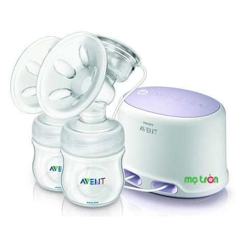 <p>Máy hút sữa điện đôi Avent Philips SCF334-12 cải tiến độc đáo và mới lạ mang đến tư thế ngồi thoải mái nhất cho mẹ khi hút sữa. Miếng đệm xoa bóp massage vùng ngực mang đến cảm giác êm ái thoải mái cho mẹ đồng thời giúp kích thích để nguồn sữa ra nhanh và đều hơn.</p>