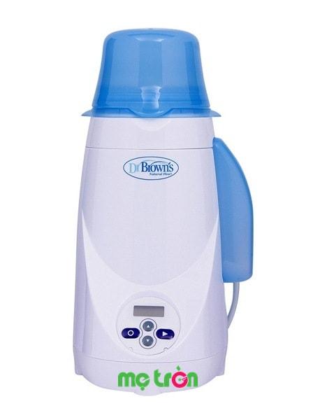 <p>Máy hâm nóng bình sữa điện tử Dr.Browns Deluxe Mỹ được sản xuất từ chất liệu nhựa cao cấp đảm bảo an toàn tuyệt đối cho sức khỏe của mẹ và bé. Máy có thiết kế hoàn hảo giúp quá trình hâm nóng sữa nhanh chóng dễ dàng đồng thời quá trình giữ ấm lâu.</p>