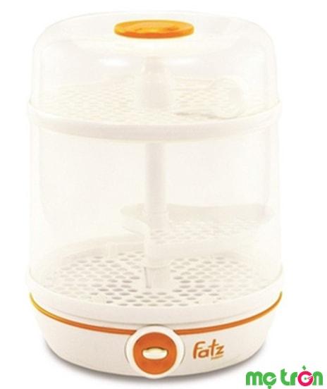 Máy tiệt trùng bình sữa đa năng Fatzbaby FB4002SB 2 trong 1 1được sản xuất từ chất liệu an toàn BPA free đảm bảo an toàn tuyệt đối cho sức khỏe bé yêu. Quá trình tiệt trùng diễn ra linh động có thể sử dụng điện hoặc lò vi sóng.