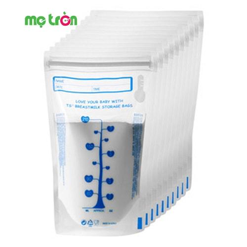 Túi trữ sữa Unimom UM870114 được nhập khẩu từ Hàn Quốc là loại túi trữ sữa mẹ có tính năng cảm ứng nhiệt độc đáo được thể hiện tại vòng tròn màu xanh ở phía trên bên phải túi, giúp mẹ chăm sóc bé tiện dụng hơn với chất liệu an toàn và thiết kế đơn giản dễ sử dụng.