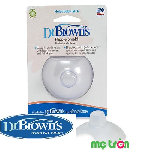 <p>Trợ ty cho mẹ Dr.Brown's là sản phẩm cao cấp từ Mỹ được làm từ chất liệu mỏng, mềm, không màu, không mùi được dùng trong trường hợp đầu ngực bị đau, nứt khi cho bé bú hay dành cho các mẹ có những vấn đề khác về đầu ty như dầu ty bị ngắn, thụt hay quá nhỏ…</p>