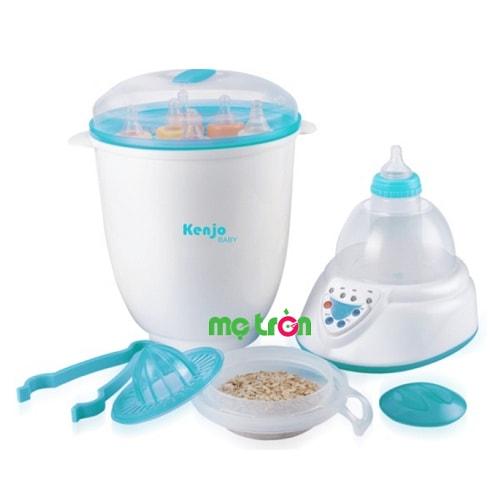 <p>Máy tiệt trùng và hâm sữa Kenjo KJ-06N Nhật Bản được sản xuất từ chất liệu nhựa đảm bảo an toàn tuyệt đối cho sức khỏe của bé. Thiết kế tinh tế hiện đại với khả năng tiệt trùng, hâm nóng bình sữa nhanh chóng và hiệu quả.</p>