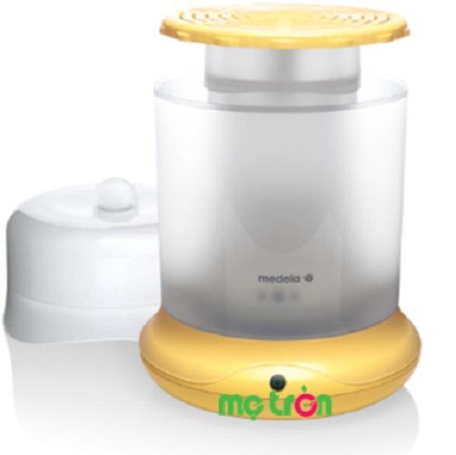 Máy tiệt trùng bình sữa Medela B-Well Thụy Sỹ màu vàng được sản xuất từ chất liệu cao cấp đảm bảo an toàn tuyệt đối cho sức khỏe bé yêu. Thiết kế gọn nhẹ sang trọng và lạ mắt với khả năng khử trùng nhanh chóng trong khoảng thời gian vài phút.