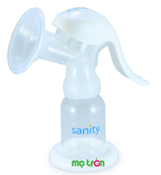 Máy hút sữa bằng tay Sanity màu trắng của Đức