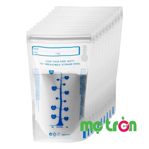 <p>Túi trữ sữa có cảm ứng nhiệt Unimom UM870152 (40 Túi – 210ml) được nhập khẩu từ Hàn Quốc, được tích hợp tính năng cảm ứng nhiệt thông minh độc đáo duy nhất trên thị trường và được Cục thực phẩm và Dược phẩm Mỹ phê duyệt nên an toàn 100%, không có bất cứ chất độc hại nào trong suốt quá trình sử dụng cho trẻ.</p>