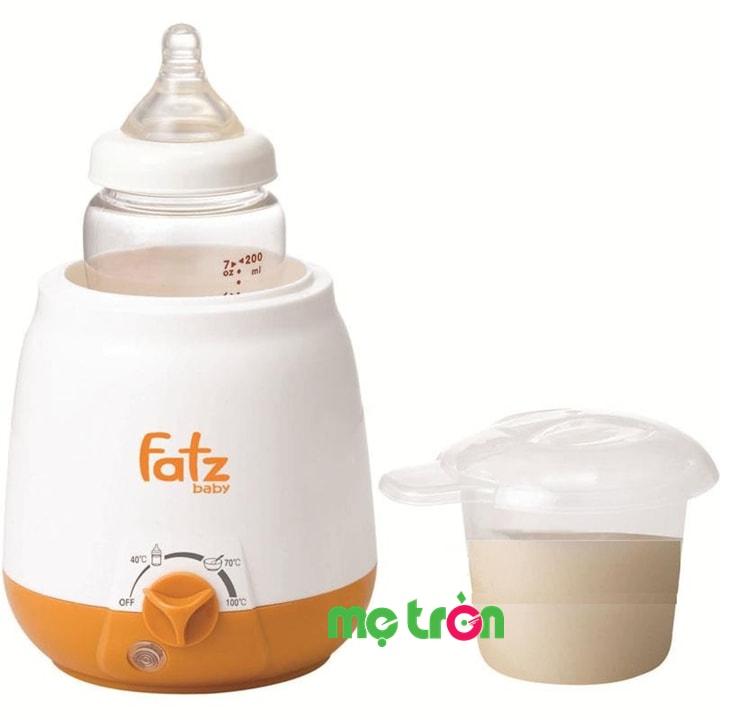 <p><strong>Máy hâm sữa 3 chức năng của Hàn Quốc Fatzbaby FB3003SL</strong> vừa giúp hâm nóng sữa cho bé yêu vừa giữ ấm và tiệt trùng bình sữa một cách thật nhanh chóng và tiện lợi giúp mẹ an tâm hơn trong quá trình chăm sóc chế độ dinh dưỡng cho bé cưng của mình.</p>