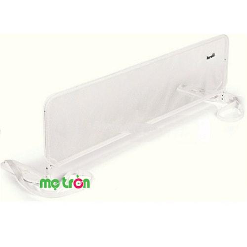 <p>Thanh chắn giường Brevi BRE312 kích thước 150cm là sản phẩm chất lượng của thương hiệu Brevi. Sản phẩm được làm từ chất liệu kim loại chắc, lưới bảo vệ cao cấp và sơn an toàn cho bé. Thiết kế thanh chắn chặn 1 bên giường giúp bé luôn an toàn, không bị ngã khi ngủ, thế là mẹ có thể an tâm khi cho bé chơi đùa trên giường.</p>