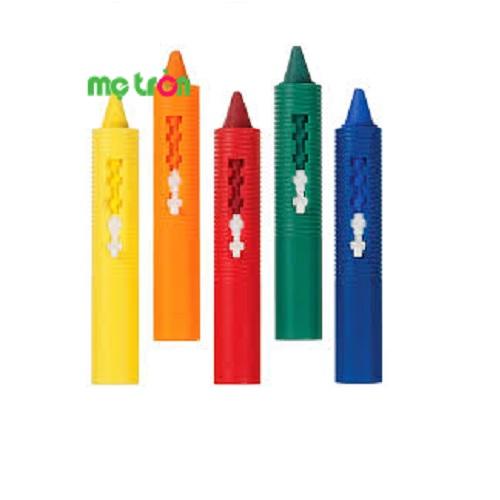 <p>- Màu sáp dễ rửa Munchkin MK31286 gồm 5 màu sắc khác nhau . - Thiết kế nhỏ gọn, vừa vặn với tay bé. - Thích hợp cho các bé từ 18 tháng tuổi trở lên.</p>
