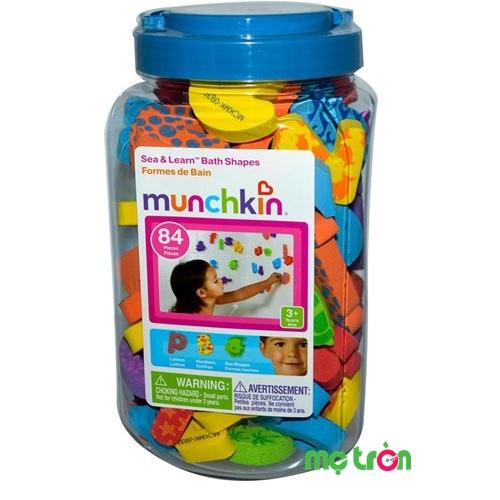 <p>- Bộ hình và chữ số xốp Munchkin MK11022 được làm từ chất liệu xốp, không chứa BPA an toàn. - Thiết kế tỉ mĩ trong từng chi tiết. - Có hộp đựng dễ dàng bảo quản và mang theo cho bé.</p>