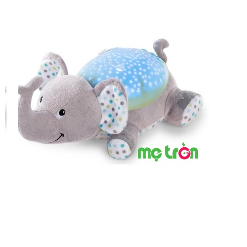 Đèn ngủ chiếu sao lên trần tường Summer Infant hình 06310 hình chú voi con đáng yêu được thiết kế gọn, nhẹ. Đèn được bọc lớp vải mềm mại, êm ái phía ngoài tạo cho bé cảm giác thoải mái và không làm ảnh hưởng gì đến làn da non nớt của bé.