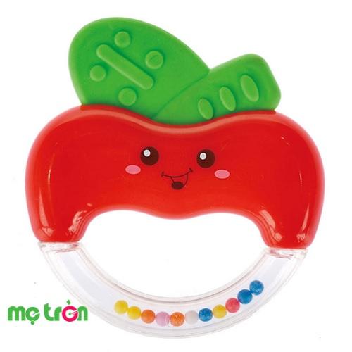- Đồ chơi lục lạc Farlin BF754M được làm từ chất liệu nhựa an toàn.  - Thiết kế hình quả táo đỏ đáng yêu. - Nhiều màu sắc tươi sáng mang đến sự hứng thú cho bé khi chơi.