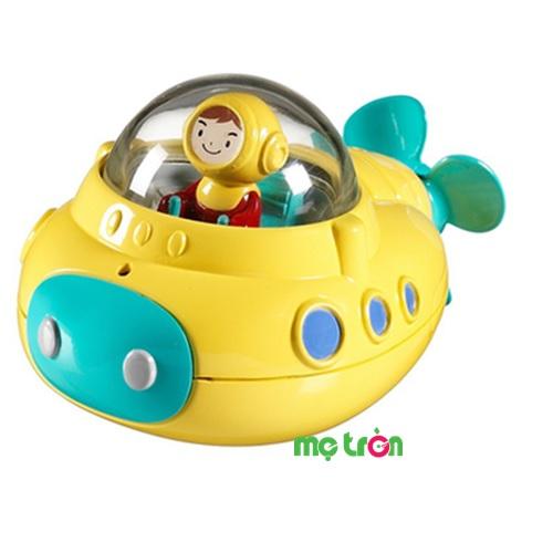 - Tàu ngầm thám hiểm Munchkin MK24207 được làm từ chất liệu nhựa không chứa BPA. - Màu sắc bắt mắt giúp bé nhận biết được màu sắc và thích thú hơn. - Tăng cường phát triển các giác quan như thính giác, thị giác và cả xúc giác.