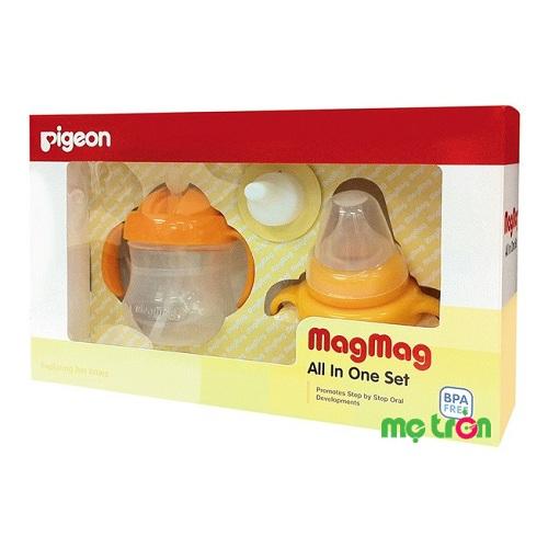 - Bộ sản phẩm được làm từ chất liệu nhựa cao cấp, không chứa BPA an toàn cho sức khỏe của bé. - Gồm các sản phẩm hỗ trợ quá trình tập uống của bé qua từng giai đoạn phát triển - Bình sữa với thiết kế tay cầm dễ dàng cho việc cầm nắm, chống trơn trượt.