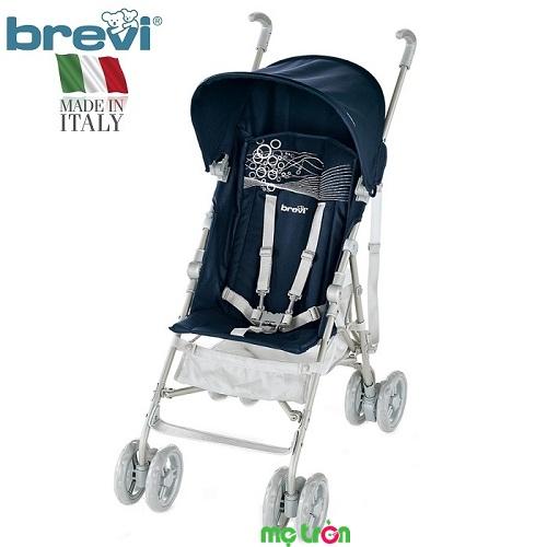 <p>Xe đẩy em bé Brevi B.Light BRE790 thuộc dòng xe đẩy siêu nhẹ nhất của Brevi chỉ nặng khoảng 4.8 kg nhưng có thiết kế chắc chắn và bao gồm đẩy đủ các phụ kiện, tính năng cần thiết bảo vệ bé yêu như: mái che, áo che mưa, dây đai an toàn, giỏ đựng đồ,... hệ thống bánh xe có gắn khóa an toàn, đảm bảo an tâm cho bạn khi đưa bé ra ngoài dạo chơi.</p>