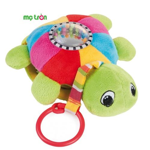 - Rùa biển mềm có gắn xúc xắc Canpol 68/019 được làm bằng chất liệu vải mềm mại, rất an toàn cho bé. - Có thể dùng để gắn lên nôi cũi, xe đẩy và làm đồ chơi riêng lẻ cho bé. - Xúc xắc tạo ra tiếng động vui nhộn.