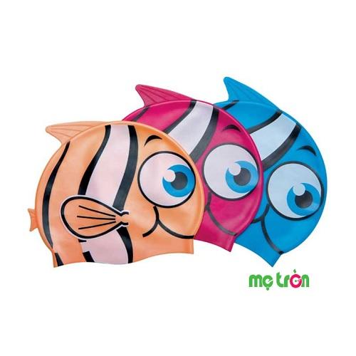 Mũ bơi hình cá Bestway 26025 được làm bằng silicon cao cấp, rất mềm mại, có độ co giãn tốt, ôm gọn đầu và tai cho bé cảm giác thoải mái khi bơi. Sản phẩm dành cho các bé từ 3 tuổi trở lên, với thiết kế chất liệu ôm sát đầu giúp bảo vệ tóc không bị ướt kết hợp với họa tiết cá vô cùng xinh xắn, ngộ nghĩnh và đáng yêu, phù hợp với sở thích của các bé.