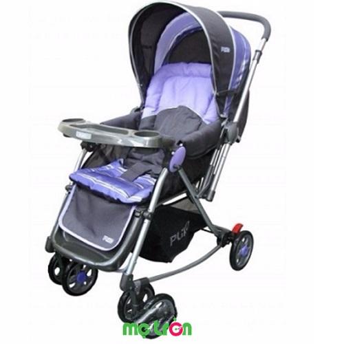 <p>Xe đẩy cho bé Sweet Cherry 2 chiều Roking B370C màu tím là dòng xe đẩy 2 chiều được thiết kế để đem lại sự thoải mái tối đa cho bé và sự thiện lợi cho mẹ. Xe đẩy rất đa năng khi kết hợp giữa xe đẩy em bé và xe bập bênh chỉ nên mẹ có thể dễ dàng chuyển đổi để việc chăm sóc bé được dễ dàng hơn.</p>