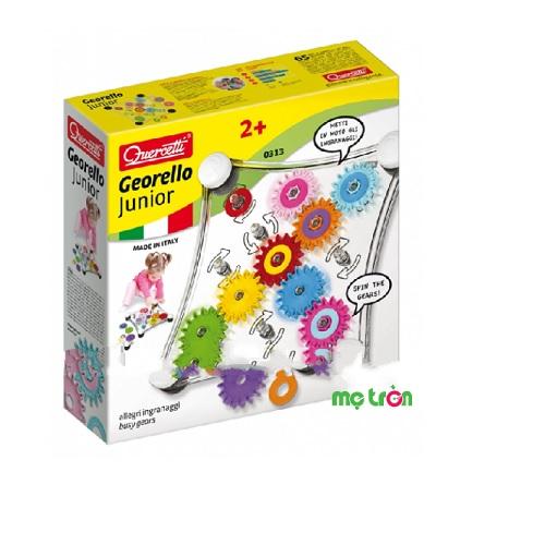 - Đồ chơi Quercetti Georello Junior (age 2+) 0313 được làm từ chất liệu nhựa cao cấp an toàn cho bé. - Gồm 20 chi tiết thiết kế hình khối đầy màu sắc. - Thích hợp cho các bé từ 2 tuổi trở lên.