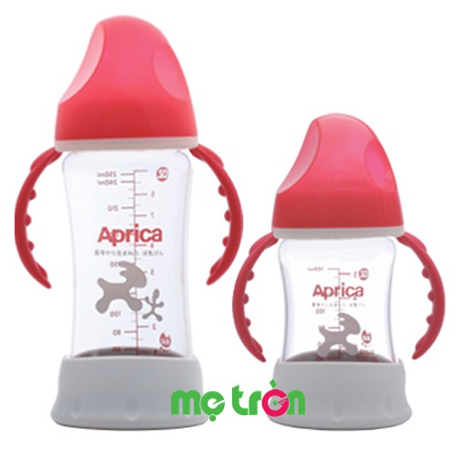 Bình sữa thủy tinh Aprica 150ml (cổ rộng) là dòng sản phẩm bình sữa cao cấp của thương hiệu Aprica. Bình được thiết kế nhỏ gọn nhẹ, chất liệu thủy tinh giúp giữ nhiệt tốt giúp giữ được các chất dinh dưỡng có trong sữa.