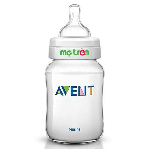 Bình sữa Philips Avent PP 125ml đơn cho bé yêu (SCF680/17) là sản phẩm bình sữa chất lượng của thương hiệu Philips Avent – Anh. Bình sữa được làm từ chất liệu silicone cao cấp dùng trong y khoa, hoàn toàn không chứa BPA độc hại, an toàn cho bé khi bú bình. Thân bình được làm từ chất liệu mềm mịn như da mẹ mang đến cảm giác thoải mái, gần gũi như khi được bú mẹ.