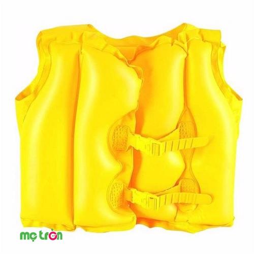 Áo phao bơi màu vàng Bestway 32072 được thiết kế với màu vàng nổi bật, thích hợp sử dụng cho bé từ 3 đến 6 tuổi. Áo phao sử dụng chất liệu nhựa dẻo PVC cao cấp, đặc biệt an toàn và không thấm nước kết hợp 2 chốt khóa chắc chắn