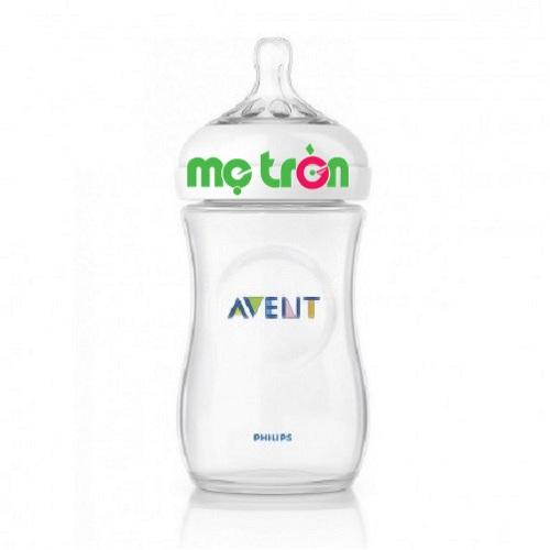 Bình sữa Avent đơn 260ml tuyệt đối an toàn cho trẻ (SCF693/17) là sản phẩm chất lượng cao cấp của thương hiệu Philips Avent. Sản phẩm được làm từ chất liệu 100% silicone y tế, cao cấp, không chứa BPA, PVC mang đến sự an toàn tuyệt đối cho trẻ khi bú bình.