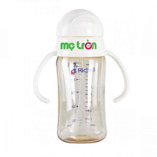 - Chất liệu nhựa PPSU siêu bền, chịu nhiệt tốt  - Với trọng lượng siêu nhẹ giúp bé cầm bình tập uống dễ dàng và nhanh hơn. - Nắp bình được thiết kế đóng khít kín khí, chống trào nước.