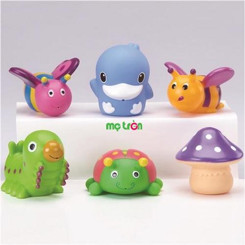 - Bộ đồ chơi nhà tắm Kuku 1077 được làm từ chất liệunhựa PVC cao cấp và an toàn cho bé. - Thiết kế đẹp mắt giúp bé phát triển tay và mắt. - Mang đến cho bé những giờ tắm thú vị hơn.