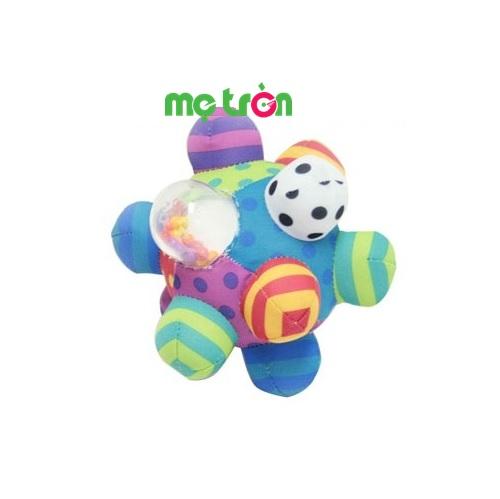- Banh Bumpy Sassy 80109 thiết kế hình giống như 1 trái banh nhiều khối màu sắc sinh động. - Chất liệu an toàn, bảo vệ sức khỏe cho bé. - Dành cho các bé từ 6 tháng tuổi trở lên.